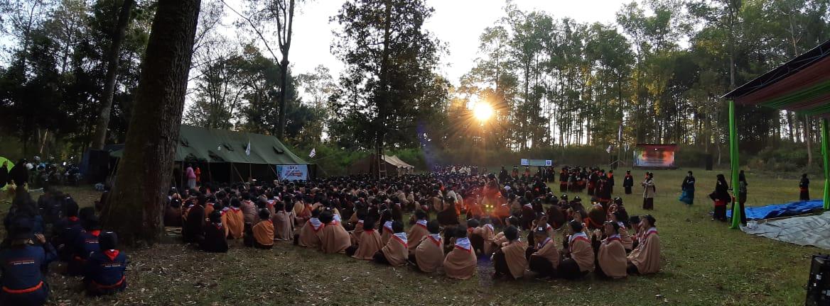 Suasana Jambore Nasional 2
