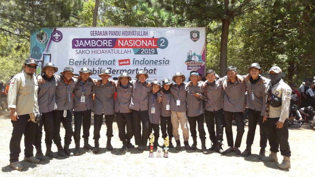 Perayaan Juara Jambore Nasional 2 Pandu Hidayatullah Putra