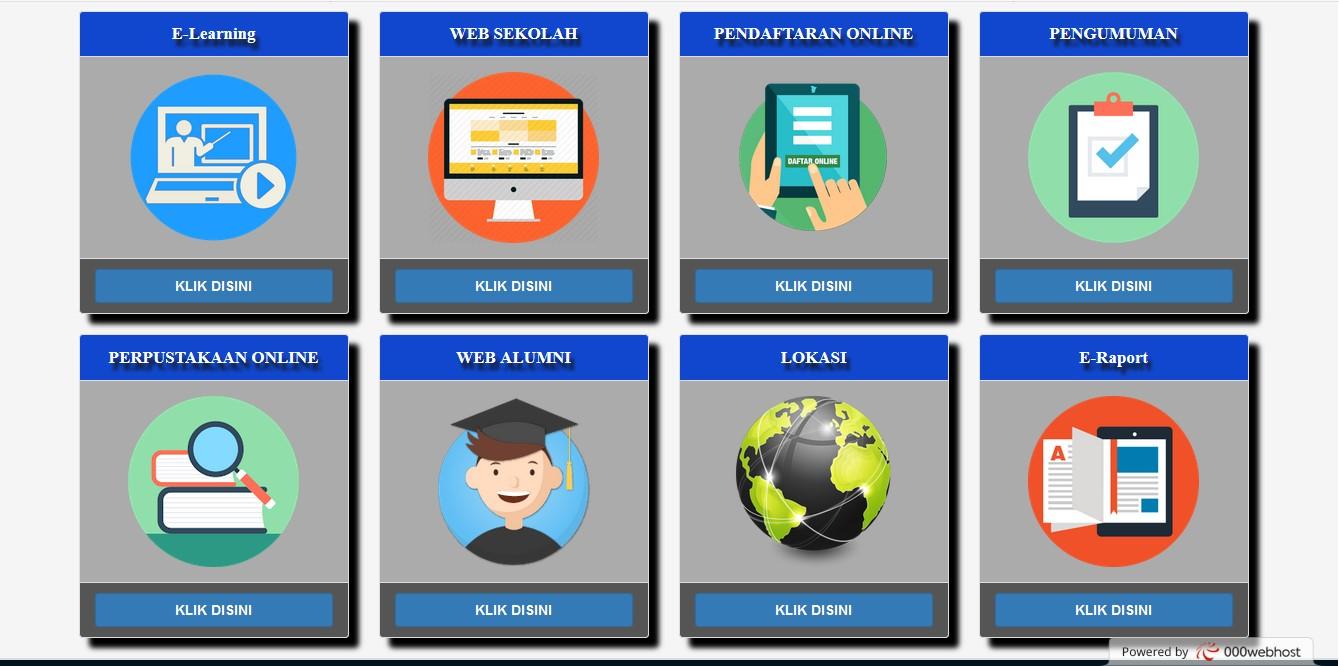 Portal SMK menu utama